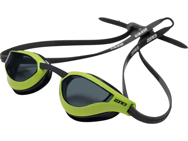 Zone3 Viper Speed Swim Lunettes de protection, smoke lens/black/lime